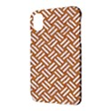 WOVEN2 WHITE MARBLE & RUSTED METAL Apple iPhone X Hardshell Case View3