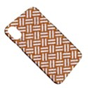 WOVEN2 WHITE MARBLE & RUSTED METAL Apple iPhone X Hardshell Case View5