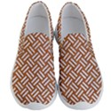 WOVEN2 WHITE MARBLE & RUSTED METAL Men s Lightweight Slip Ons View1