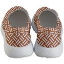 WOVEN2 WHITE MARBLE & RUSTED METAL Women s Lightweight Slip Ons View4