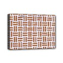 WOVEN1 WHITE MARBLE & RUSTED METAL (R) Mini Canvas 7  x 5  View1