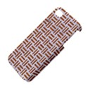 WOVEN1 WHITE MARBLE & RUSTED METAL (R) Apple iPhone 4/4S Hardshell Case View4