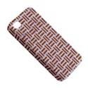 WOVEN1 WHITE MARBLE & RUSTED METAL (R) Apple iPhone 4/4S Hardshell Case View5