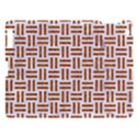 WOVEN1 WHITE MARBLE & RUSTED METAL (R) Apple iPad 3/4 Hardshell Case View1