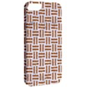 WOVEN1 WHITE MARBLE & RUSTED METAL (R) Apple iPhone 5 Classic Hardshell Case View2