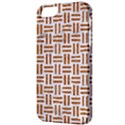 WOVEN1 WHITE MARBLE & RUSTED METAL (R) Apple iPhone 5 Classic Hardshell Case View3