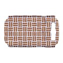WOVEN1 WHITE MARBLE & RUSTED METAL (R) Samsung Galaxy S III Hardshell Case (PC+Silicone) View1