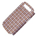 WOVEN1 WHITE MARBLE & RUSTED METAL (R) Samsung Galaxy S III Hardshell Case (PC+Silicone) View4