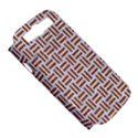 WOVEN1 WHITE MARBLE & RUSTED METAL (R) Samsung Galaxy S III Hardshell Case (PC+Silicone) View5