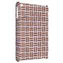 WOVEN1 WHITE MARBLE & RUSTED METAL (R) Apple iPad Mini Hardshell Case View2