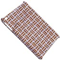 WOVEN1 WHITE MARBLE & RUSTED METAL (R) Apple iPad Mini Hardshell Case View5