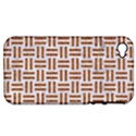 WOVEN1 WHITE MARBLE & RUSTED METAL (R) Apple iPhone 4/4S Hardshell Case (PC+Silicone) View1