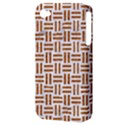 WOVEN1 WHITE MARBLE & RUSTED METAL (R) Apple iPhone 4/4S Hardshell Case (PC+Silicone) View3