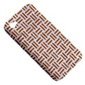 WOVEN1 WHITE MARBLE & RUSTED METAL (R) Apple iPhone 4/4S Hardshell Case (PC+Silicone) View5
