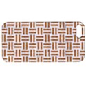 WOVEN1 WHITE MARBLE & RUSTED METAL (R) Apple iPhone 5 Hardshell Case with Stand View1