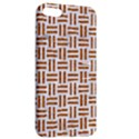 WOVEN1 WHITE MARBLE & RUSTED METAL (R) Apple iPhone 5 Hardshell Case with Stand View2