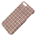 WOVEN1 WHITE MARBLE & RUSTED METAL (R) Apple iPhone 5 Hardshell Case with Stand View4
