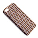 WOVEN1 WHITE MARBLE & RUSTED METAL (R) Apple iPhone 5 Premium Hardshell Case View5