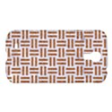 WOVEN1 WHITE MARBLE & RUSTED METAL (R) Samsung Galaxy S4 I9500/I9505 Hardshell Case View1