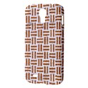 WOVEN1 WHITE MARBLE & RUSTED METAL (R) Samsung Galaxy S4 I9500/I9505 Hardshell Case View3