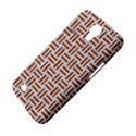 WOVEN1 WHITE MARBLE & RUSTED METAL (R) Samsung Galaxy Mega 6.3  I9200 Hardshell Case View4