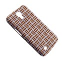 WOVEN1 WHITE MARBLE & RUSTED METAL (R) Samsung Galaxy Mega 6.3  I9200 Hardshell Case View5
