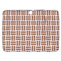 WOVEN1 WHITE MARBLE & RUSTED METAL (R) Samsung Galaxy Tab 3 (10.1 ) P5200 Hardshell Case  View1