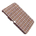 WOVEN1 WHITE MARBLE & RUSTED METAL (R) Samsung Galaxy Tab 3 (10.1 ) P5200 Hardshell Case  View5