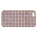 WOVEN1 WHITE MARBLE & RUSTED METAL (R) iPhone 5S/ SE Premium Hardshell Case View1
