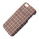 WOVEN1 WHITE MARBLE & RUSTED METAL (R) iPhone 5S/ SE Premium Hardshell Case View4