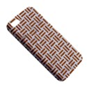 WOVEN1 WHITE MARBLE & RUSTED METAL (R) iPhone 5S/ SE Premium Hardshell Case View5