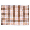 WOVEN1 WHITE MARBLE & RUSTED METAL (R) iPad Air Hardshell Cases View1