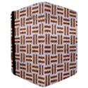 WOVEN1 WHITE MARBLE & RUSTED METAL (R) iPad Mini 2 Flip Cases View3