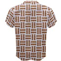 WOVEN1 WHITE MARBLE & RUSTED METAL (R) Men s Cotton Tee View2
