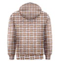 WOVEN1 WHITE MARBLE & RUSTED METAL (R) Men s Pullover Hoodie View2