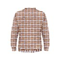 WOVEN1 WHITE MARBLE & RUSTED METAL (R) Kids  Sweatshirt View2