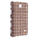 WOVEN1 WHITE MARBLE & RUSTED METAL (R) Samsung Galaxy Tab 4 (8 ) Hardshell Case  View3