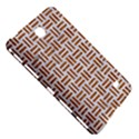 WOVEN1 WHITE MARBLE & RUSTED METAL (R) Samsung Galaxy Tab 4 (8 ) Hardshell Case  View5