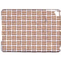 WOVEN1 WHITE MARBLE & RUSTED METAL (R) Apple iPad Pro 9.7   Hardshell Case View1