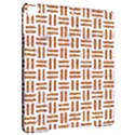 WOVEN1 WHITE MARBLE & RUSTED METAL (R) Apple iPad Pro 9.7   Hardshell Case View2