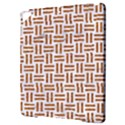 WOVEN1 WHITE MARBLE & RUSTED METAL (R) Apple iPad Pro 9.7   Hardshell Case View3