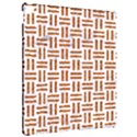 WOVEN1 WHITE MARBLE & RUSTED METAL (R) Apple iPad Pro 12.9   Hardshell Case View2