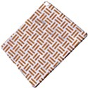 WOVEN1 WHITE MARBLE & RUSTED METAL (R) Apple iPad Pro 12.9   Hardshell Case View5