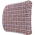 WOVEN1 WHITE MARBLE & RUSTED METAL (R) Back Support Cushion View3