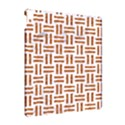 WOVEN1 WHITE MARBLE & RUSTED METAL (R) Apple iPad Pro 10.5   Hardshell Case View2