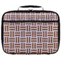 WOVEN1 WHITE MARBLE & RUSTED METAL (R) Full Print Lunch Bag View1