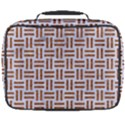 WOVEN1 WHITE MARBLE & RUSTED METAL (R) Full Print Lunch Bag View2