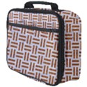 WOVEN1 WHITE MARBLE & RUSTED METAL (R) Full Print Lunch Bag View4