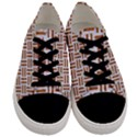 WOVEN1 WHITE MARBLE & RUSTED METAL (R) Men s Low Top Canvas Sneakers View1