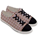 WOVEN1 WHITE MARBLE & RUSTED METAL (R) Men s Low Top Canvas Sneakers View3